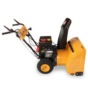 snow blower  sale while  supplies last