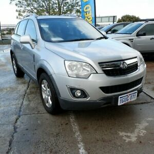 2011 Holden Captiva CG Series II 5 Silver 6 Speed Sports Automatic Wagon St James Victoria Park Area Preview