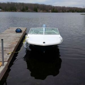 Thundercraft boat with Evinrude 75 hp