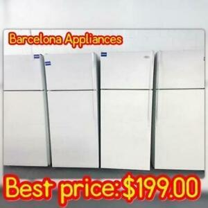 KITCHEN PACKAGE FRIDGE STOVE DISHWASHER STAINLESS STEEL WHITE