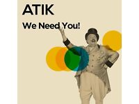 ATIK NIGHTCLUB are looking for Bar Staff, Floor Staff, VIP staff, Promo Staff and Reception Staff