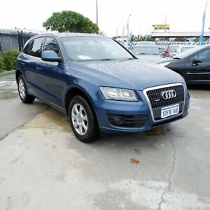 2009 Audi Q5 8R MY10 TFSI S Tronic Quattro Blue 7 Speed Sports Automatic Dual Clutch Wagon St James Victoria Park Area Preview