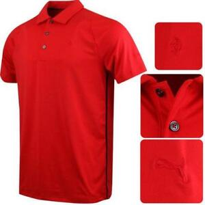 Puma Golf Mens Ferrari Duo-Swing  Polo Shirt 'Limited LARGE NEW