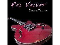 Red Velvet Guitar Tuition (East London)
