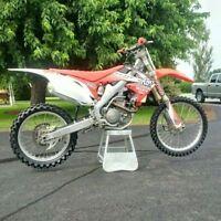 CRF250R 2010 a vendre femme propriétaire