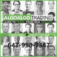 FOREX & STOCK MARKET DAY TRADING .. LEARN to TRADE with ALGOs