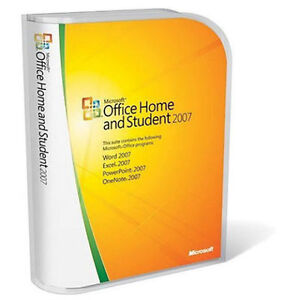 Microsoft Office 2007 Home & Student for 3PC's Brand New Retail!