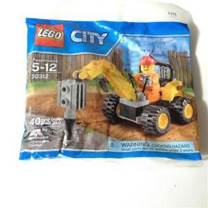 Lego City Demolition Driller #30312