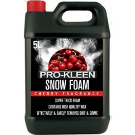 Pro-Kleen Cherry Snow Foam - 5Litres, Brand New Sealed Pack @ £ 10