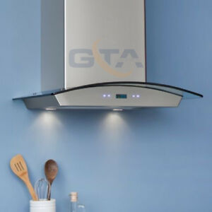 Range Hood Kitchen Exhaust Fan Wall Mount Chimney From $479