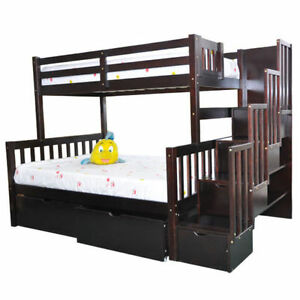 SOLID WOOD BUNKBED STARTING FROM $299 LOWEST PRICE GUARAN Kitchener / Waterloo Kitchener Area image 8
