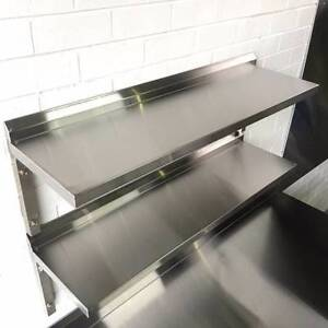 commercial Grade stainless steel wall shelf (Unbeatable Price) Milperra Bankstown Area Preview