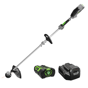 "POWER+ 15"" STRING TRIMMER W/RAPID RELOAD+SPLIT SHAFT 2.5AH LI-PO"
