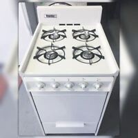 """20"""" GAS STOVE DANBY WHITE. HURRY UP!! ONLY ONE UNIT"""
