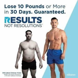 weight loss with Isagenix cleanse