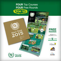 GOLF TOUR 2015 IS HERE! Play 4 rounds for only $20.00.