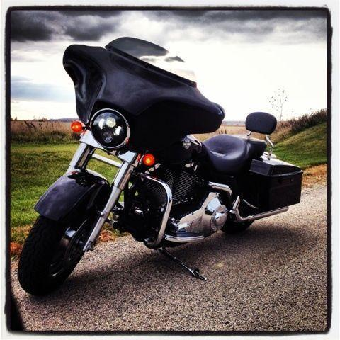 Harley Bagger Ebay