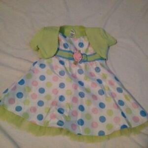 12-18 month polka dot dress