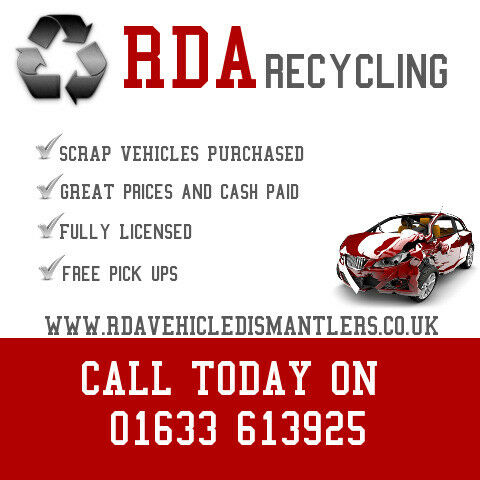 Cash for scrap cars in Newport and surrounding areas | Scrap Yard | Used Vehicle parts