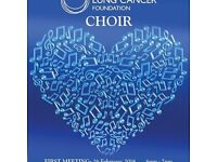 ROY CASTLE LUNG CANCER FOUNDATION CHOIR. NEEDS YOU