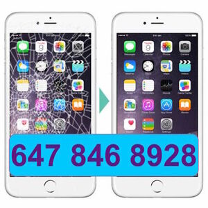 iPhone 4,4S 5 5C,S 6 + Lcd Touch Screen Cracked Repair