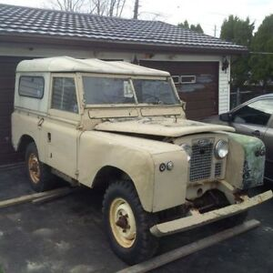 1961 Land Rover series ii very solid all original trades welcome