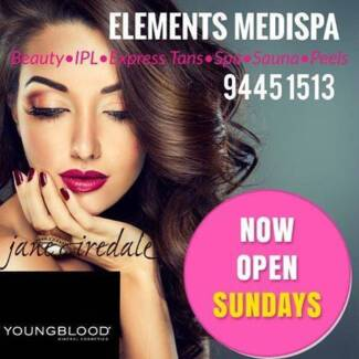 2hr Express Spray Tan, IPL and Beauty (open late Wed & Thurs)