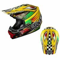 Troy Lee Design MX Helmet and Oakley Goggles