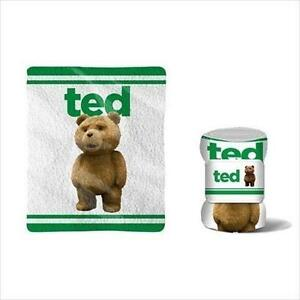 """New Ted The Movie 50 x 60"""" Fleece Blanket Official Licensed"""