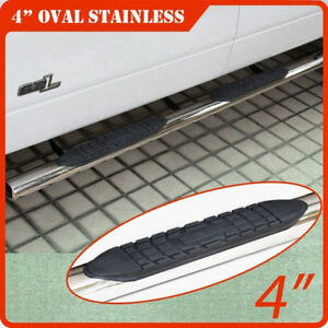 """BRAND NEW Ford / CHEVY / GMC / DODGE 4"""" Truck Sidesteps"""