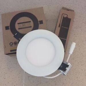 """4"""" Slim Recessed LED Downlight and transformer"""
