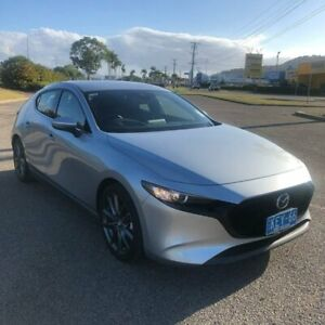2019 Mazda 3 BP2H7A G20 SKYACTIV-Drive Touring Silver 6 Speed Sports Automatic Hatchback