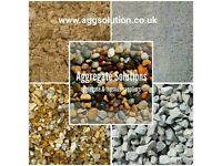 All grades of aggregates, topsoil, decorative stone & screed for sale in Cardiff & surrounding areas