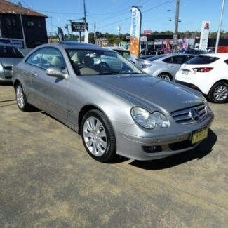2006 Mercedes-Benz CLK350 C209 MY06 Elegance Champagne 7 Speed Automatic G-Tronic Coupe Croydon Burwood Area Preview