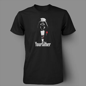 FUNNY STAR WARS  DARTH VADER GODFATHER Mens T-Shirt