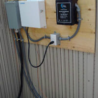 licensed electrician- pool and hot tub installations.