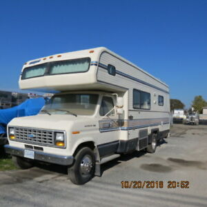 1986-87 FORD C CLASS MOTOR HOME