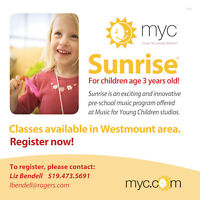 Music for Young Children - Sunrise - music and movement