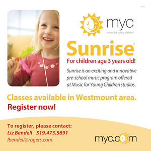 Music for Young Children - Sunrise - music and movement London Ontario image 1