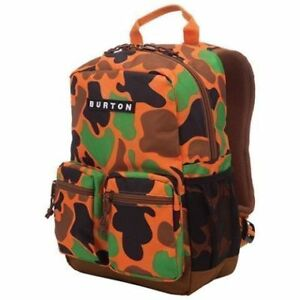 Burton kids youth boys girls Backpack camoflauge camo knapsack
