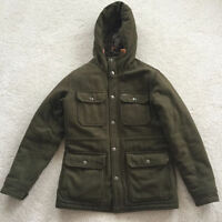 Mens Obey Montclair Green Fall/Winter Jacket