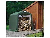 CLARKE ~ Instant shed - Peak style (12 x 8 x 6ft) - Boxed, as new and unused.