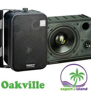 Pyle 6.5-Inch 2-Way Bass Monitor Speakers indoor or outdoor