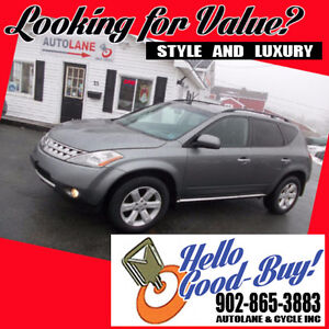 2006 Nissan Murano SL AWD New MVI Solid SUV $5995 buys it