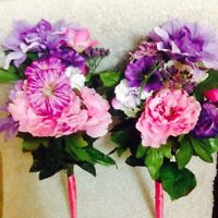 Blue, Pink and Purple flowers for Sale