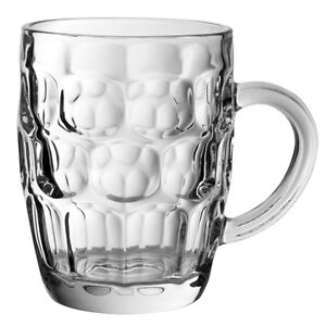 Dimple Pint Traditional Tankard CE Marked/Beer Glass 20oz/57cl