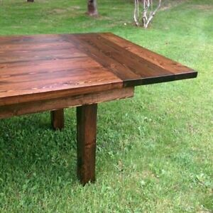 Refined Rustic Harvest Tables