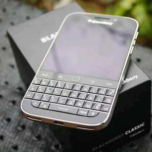 In good condition  unlocked blackberry classic Q20