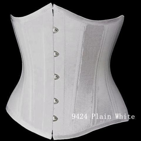 plain white corset  ebay