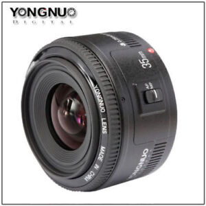 YONGNUO YN 35MM F2 Auto Focus Lens for Canon EF Mount EOS
